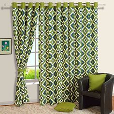 Orange and Red Damask Print Cotton Window Curtains54 x 60 Inch For Living Room Set Of 2 Panels Colors may vary *** To view further for this item, visit the image link. (This is an affiliate link and I receive a commission for the sales)