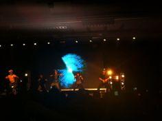 Hyun Joong is performing Breakdown right now at Feel Korea in Brazil.
