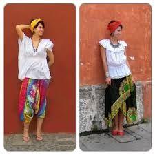 Resultado de imagen para outfit blusas bordadas mexicanas