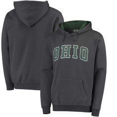 Ohio Bobcats Colosseum Arch Pullover Hoodie - Charcoal - $29.99