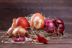 Photo about Natural easter egg dyeing orange brown with onion. Image of natural, onion, easter - 90142846 Easter Egg Dye, Orange Brown, Abstract Photos, Onion, Stock Photos, Vegetables, Nature, Image, Naturaleza