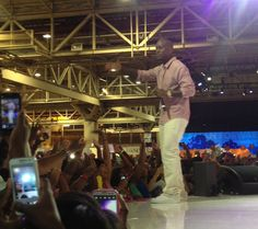 GRAMMY nominated R singer, Tyrese, on stage at the New Orleans Convention Center during #ESSENCEFest 2013