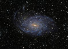 Beautiful spiral galaxy NGC 6744 is nearly light-years across, larger than our own Milky Way. It lies some 30 million light-years distant in the southern constellation Pavo Cosmos, Astronomy Pictures, Spiral Galaxy, Star Formation, Star Cluster, Space Images, Space Pics, Image Of The Day, Light Year