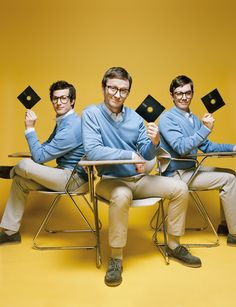 Andy Samberg & The Lonely Island Guys http://www.papermag.com/2013/04/the_lonely_island_guys_have_it.php
