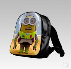 Cool Pixar Toy Story Buzz Lightyear Minion School Bags