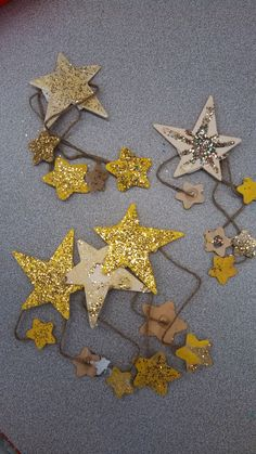 Jesse Tree readings and ornaments become the basis for Old Testament Sunday school and an Advent skit. Jesse Tree Ornaments, Star Ornament, Hanging Ornaments, Christmas Pageant, Kids Christmas, Christmas Crafts, Christmas Ornaments, Jesus Family Tree, Jessie Tree