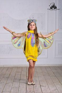 """Бабочка жёлтая"". Рост: 110 - 116 см.  Сайт:) http://skazkindom.dp.ua"