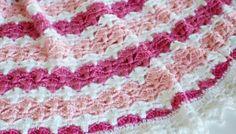 Crochet Pattern: Jasmine Baby Blanket