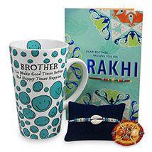 Miss You Brother Rakhi Hamper