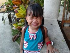 My beautiful daughter being cute. :))