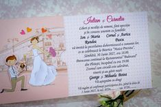 Invitatie ink drawing proposal 2220