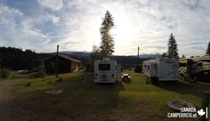 Dag Watervallen in Wells Gray National Park Camper, Recreational Vehicles, Dutch, Canada, Wellness, Grey, Ash, Caravan, Gray