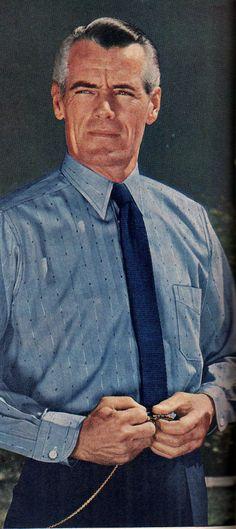 1940s Men's dress shirt. More at VIntageDancer.com