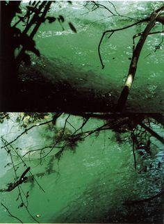 Stefano Cagol, Lago, 2000, Lightbox, 145 x 108 x 13 cm