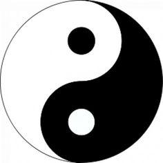 yin yang symbol clip art - get domain pictures Yin Yang Tattoos, Tatuajes Yin Yang, Yin Yang Significado, Arte Yin Yang, Yin Yang Art, Jing Und Jang Tattoos, Jing Y Jang, Ying Yang Symbol, Printable Tattoos