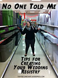 "Pinner said..""This is a great blog... Registering was probably one of the most time consuming and stressful things we did after getting engaged. While I don't agree with EVERYTHING she says, I wish I would have read something like this before we went. Would have saved us a lot of frustration."""