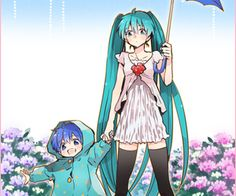 """Find and save images from the """"KAITO and MIKU"""" collection by MALO_ CHAN (malo_chan) on We Heart It, your everyday app to get lost in what you love. Hatsune Miku, Kaito Shion, Kaai Yuki, Kagamine Rin And Len, I Love Anime, My Arts, Fan Art, Animation, Cosplay"""