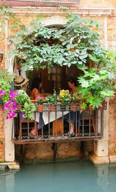 Trattoria Sempione in Venice, Italy. Yes, I would like to eat here when I'm there! ♡