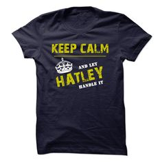 If youre a HATLEY then this is for you! Let people know that whatever the problem that arises, there is no need to stress, you can handle it.