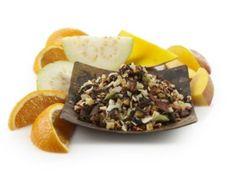 Mango Mate Pu-erh Punch Mate Tea.  - Blends well with Spiced Mandarin Oolong Tea, Pineapple Kona Pop Herbal Tea, & CocoCaramel Sea Salt Herbal Tea