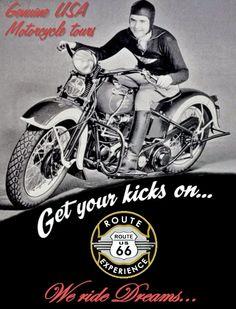 We ride dreams...  Contacta con nosotros/Contact with us:  www.route66experience.eu