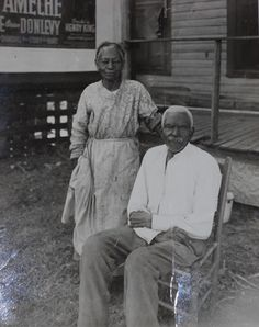 """JACK AND ROSA, former slaves.Their slave was recorded December 2, 1937. Jack and Rosa were both born in Slavery, Jack to the Maddox family, in Georgia, and Rosa to the Andrews family in Mississippi. They were married in Union Parish, Louisiana, in 1869, and are proud of the fact that they have been married sixty-nine years and """"was a lovin' pair all dem years."""" They live in Dallas, Texas at the time of this narrative, ca. 1937."""