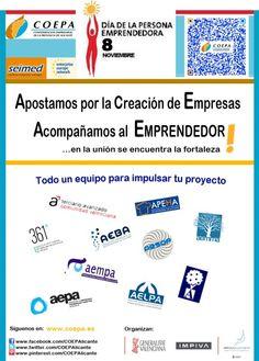 Dia-del-Emprendedor. COEPA Seimed en IFA el día 8/nov 2012