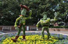 What to expect at the Epcot International Flower & Garden Festival in 2013