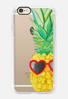 Casetify iPhone 7 Case and Other iPhone Covers - Pineapple For Your BFF by Lauren Davis | #Casetify