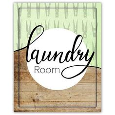 Picture it on Canvas 'Laundry Room Poster - Laundry' Textual Art on Paper