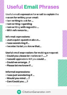 Useful Email Phrases Email Writing, Ielts Writing, Essay Writing, Writing Tips, Creative Writing, English Writing Skills, English Vocabulary, English Words, English Grammar