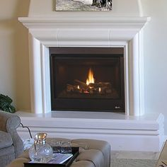 Superior DRT3000 Direct Vent Gas Fireplace | WoodlandDirect.com: Indoor Fireplaces: Gas, Superior Products #LearnShopEnjoy