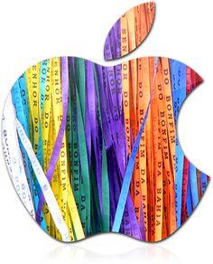 Fita do Senhor do Bonfim  Apple  Logo