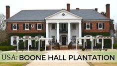 Boone Hall Plantation: Stepping into the South Carolina's Past Boone Hall Plantation, South Carolina, Family Travel, Travel Inspiration, Past, Travel Tips, Shed, Houses, Outdoor Structures
