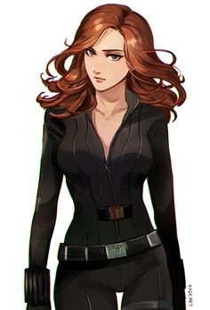 Black Widow by kadeart.tumblr.com
