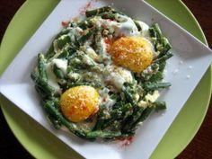 Asparagus with Eggs  (Kuskonmaz Kavurmasi)