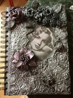 Mixed Media Art - Journal By Heather at Heather's Craft Studio