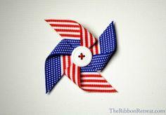 pinwheel ribbon sculpture tutorial