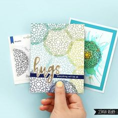 Zinia Redo (@ziniaredo) • Instagram photos and videos Everything Will Be Ok, Types Of Colours, Small Cards, Altenew, To Color, Clear Stamps, Stampin Up Cards, Scrapbook Pages, Breathe