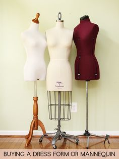 BUYING A DRESS FORM OR MANNEQUIN