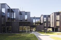 Image 6 of 18 from gallery of Residential complex Ciekurkrasti / AB3D. Photograph by Ansis Starks