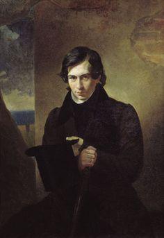 Karl Briullov  Portrait Nestor Kukolnik