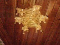 Eski Safranbolu evlerinde sineklerin gelmemesi için yapılmış icat :)