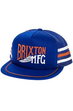 Shop urban fashion destination to find the Coventry Trucker Hat by Brixton and other sick new street style from top brands. Dope Hats, New Street Style, Brixton, Coventry, Urban Fashion, Cap, Orange, Reign, Mesh Hats