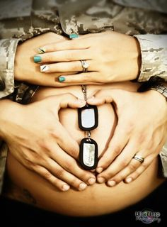 Army maternity Shooting