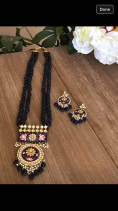 Gold Jewelry Simple, Cute Jewelry, Jewelry Crafts, Wedding Jewelry, Beaded Jewelry, Imitation Jewelry, India Jewelry, Jewelry Patterns, Necklace Designs
