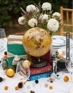 So neat! - Vintage / travel theme?   CHECK OUT MORE IDEAS AT WEDDINGPINS.NET   #weddings #travel #travelthemes #weddingplanning #coolideas #events #forweddings #weddingplaces #romance #beauty #planners #weddingdestinations #travelthemedweddings #romanticplaces #eventplanners #weddingdress #weddingcake #brides #grooms #weddinginvitations
