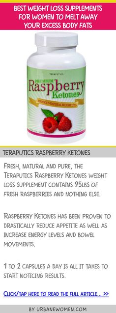 Best weight loss supplements for women to melt away your excess body fats - Teraputics raspberry ketones