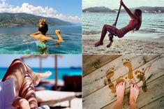Ideias: tirando fotos na praia