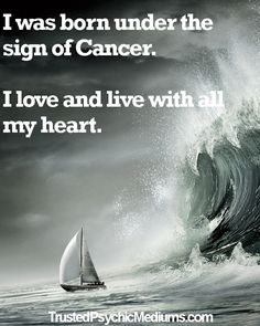 Cancer daily horoscopes and love forecasts are published daily at http://trustedpsychicmediums.com